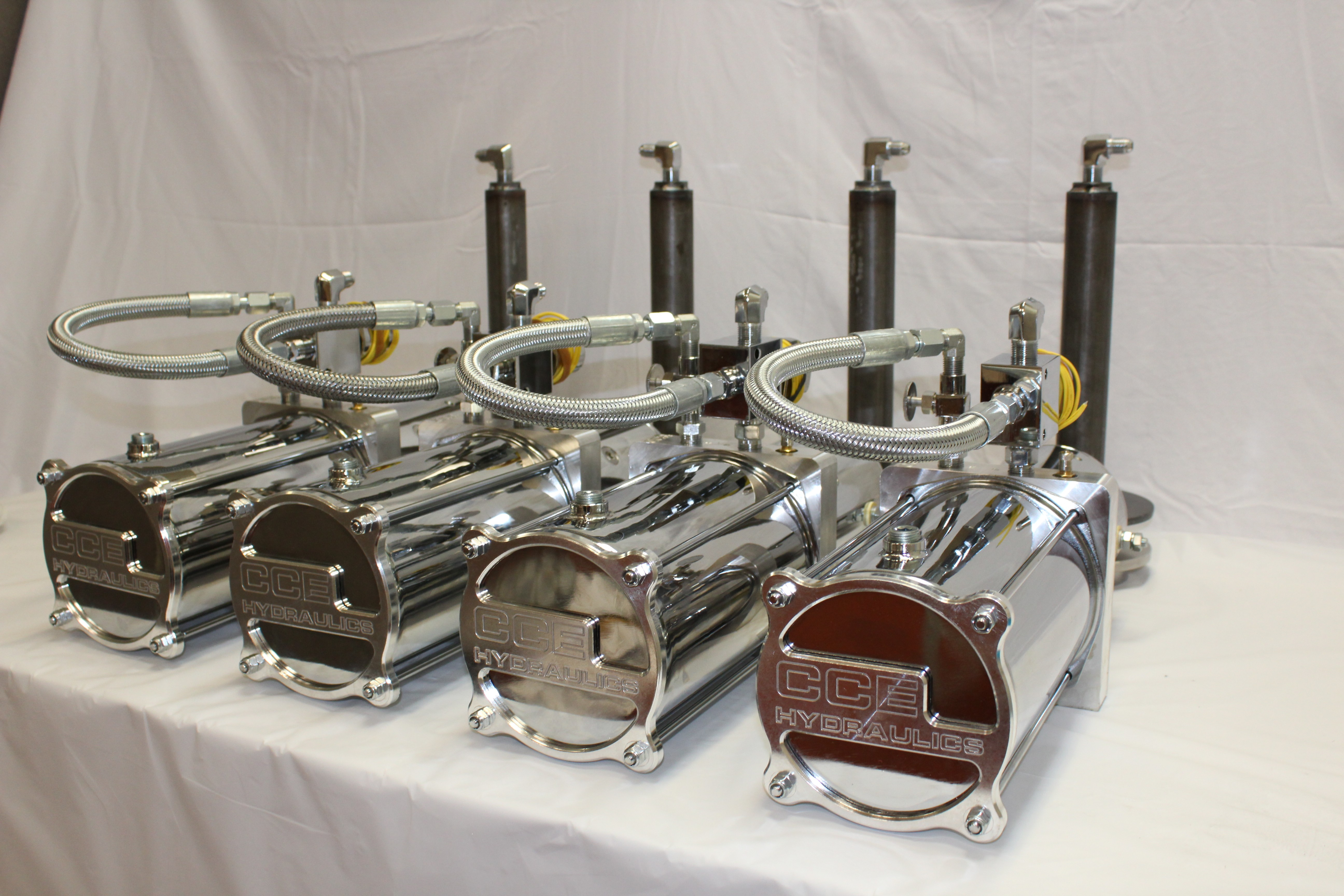 4 Pump Competition Kit Cool Cars Wheels Air Ride